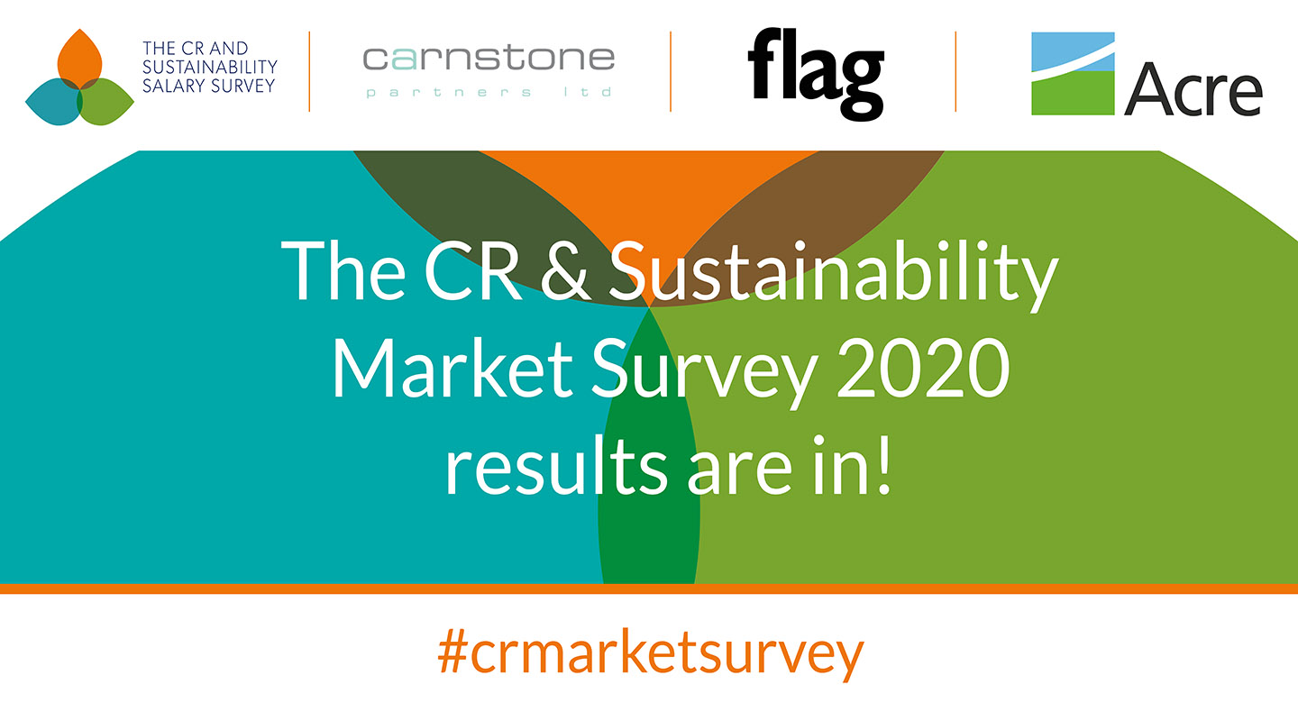 Results from the 2020 CR & Sustainability Salary Survey