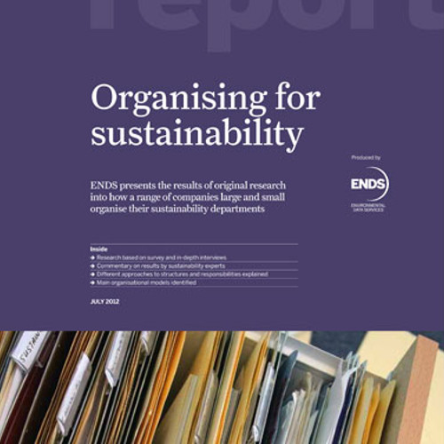 Organising For Sustainability
