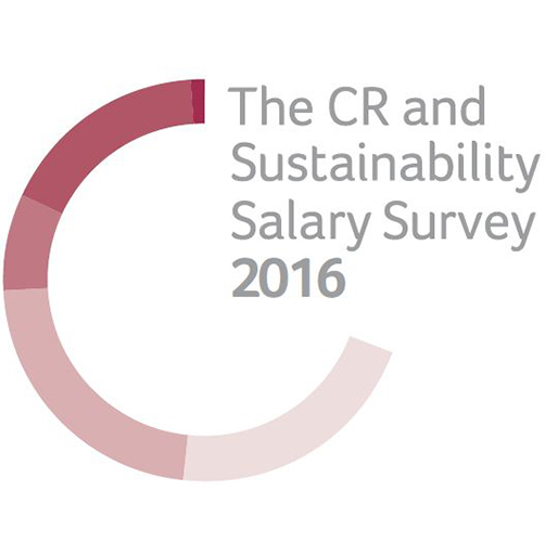 The Corporate Responsibility & Sustainability Salary Survey 2016