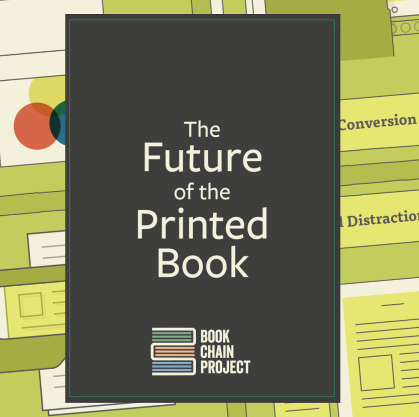 The Future of the Printed Book